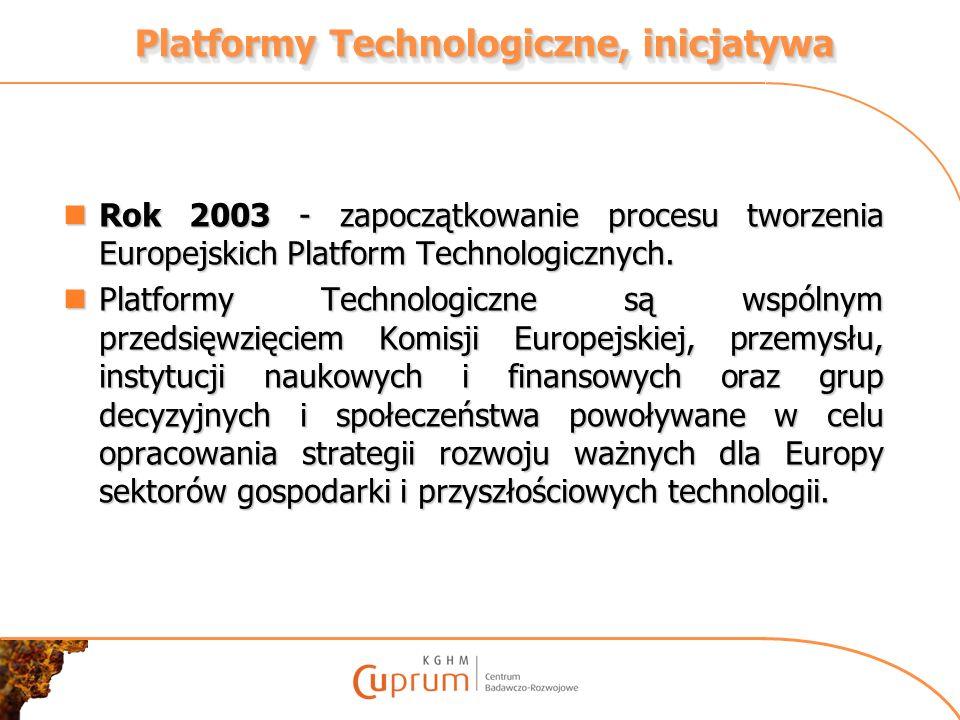 Członkowie – Założyciele Polskiej Platformy Technologicznej Surowców Mineralnych RESEARCH & DEVELOPMENT 1.BIPROMET S.A.