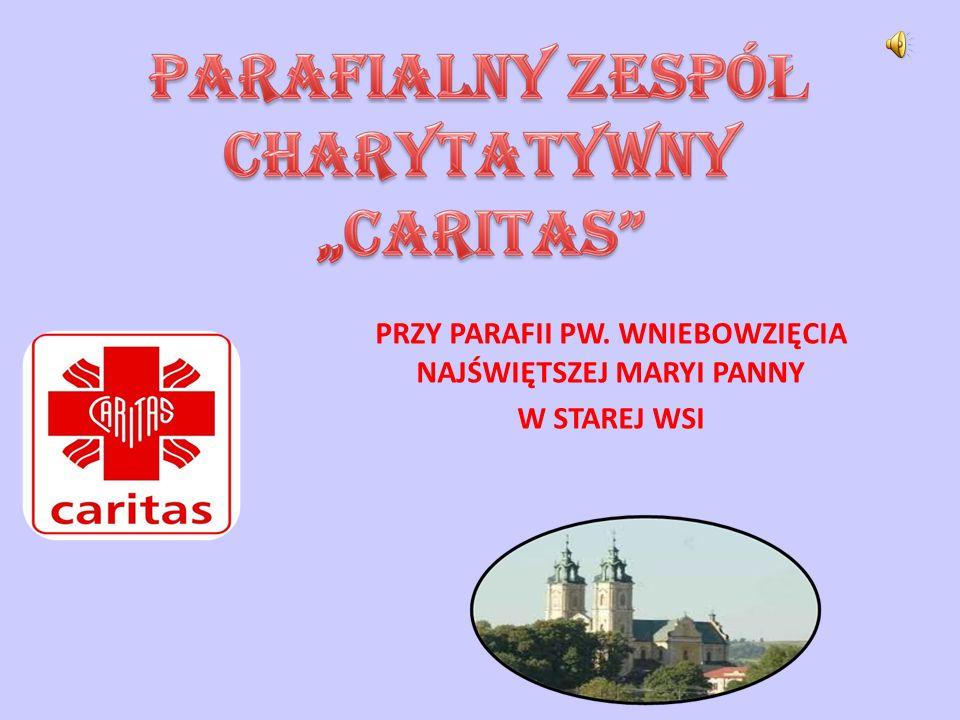 SYMPATYCY PZC CARITAS Pani Sołtys Anna Żmuda udostępnia biuro i pomaga wypełniać wnioski o przyznanie darów z programu PEAD.