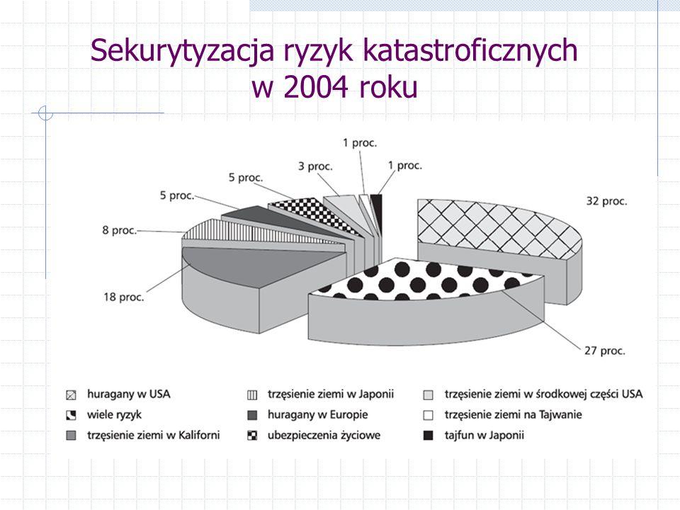 Sekurytyzacja ryzyk katastroficznych w 2004 roku
