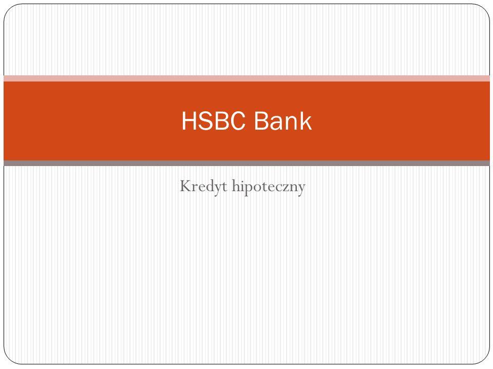 Kredyt hipoteczny HSBC Bank
