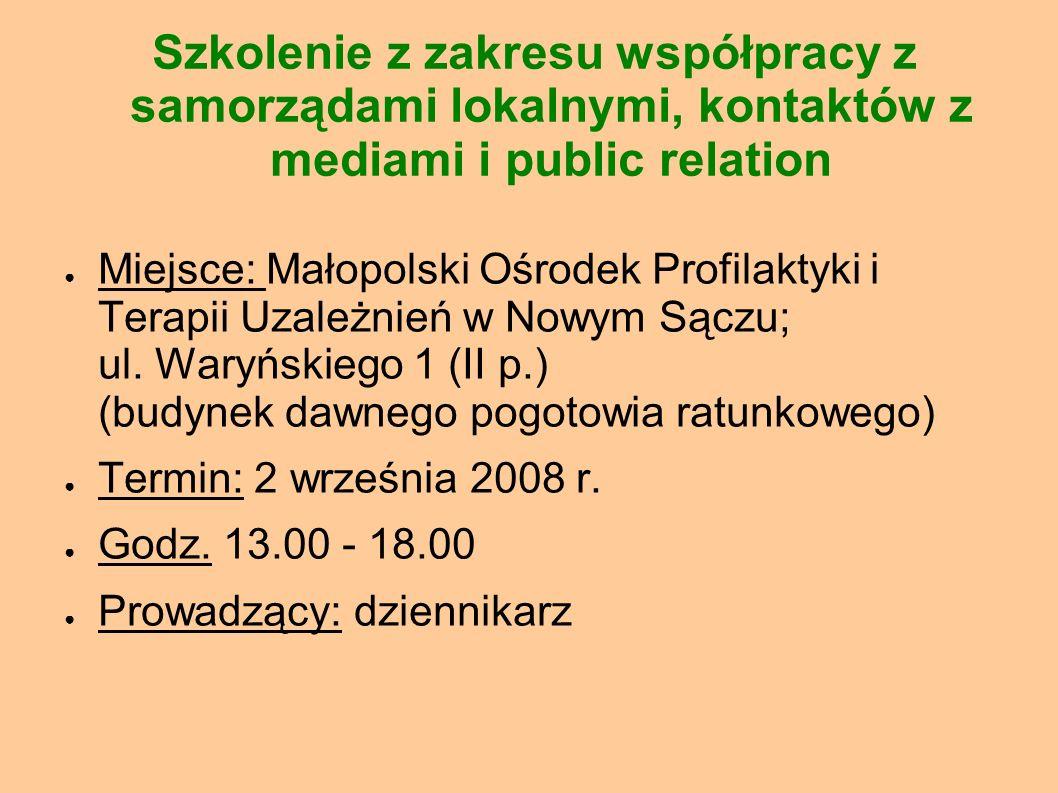 Dyżury prawnika i księgowego Miejsce: Sądecki UTW; ul.