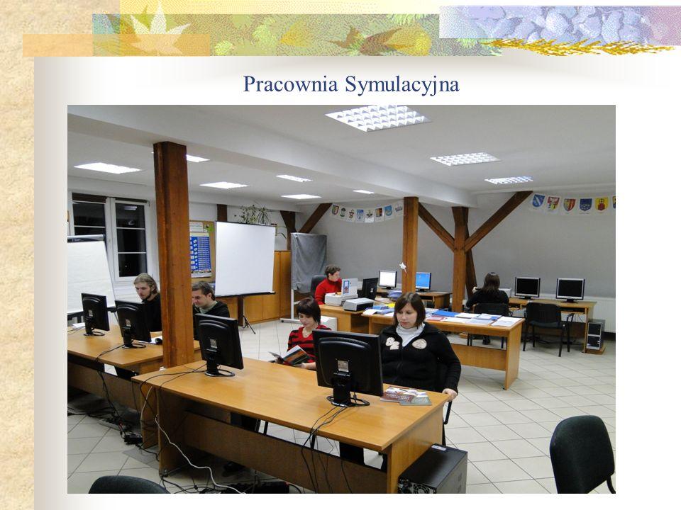 Cele i zadania firmy symulacyjnej Firma symulacyjna jest zorganizowana na wzór prawdziwego przedsiębiorstwa.