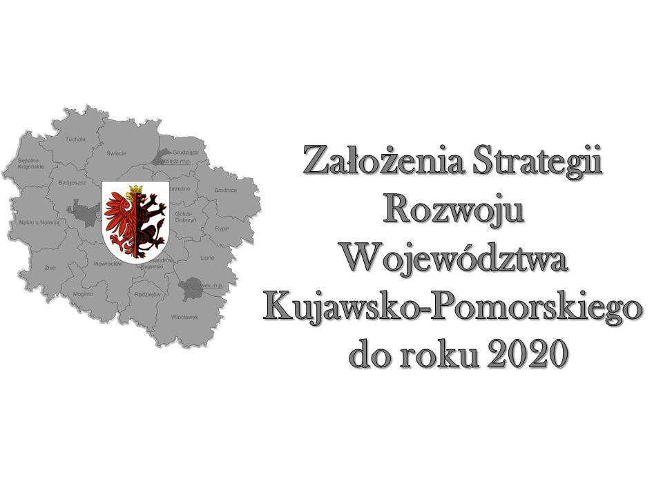 Obszar działań: Gospodarka i społeczeństwo Misja rozwoju województwa Cele strategiczne: 1)Projekt solidarności międzypokoleniowej 2)Rozwój społeczny (wykształcenie oraz zdrowie) 3)(Radykalne) ograniczenie bezrobocia 4)Rozwój gospodarki 5)Modernizacja obszarów wiejskich (aktywizacja społeczno-gospodarcza) 6)Polityka miejska 7)Silna metropolia 8)Rozwój infrastruktury o znaczeniu strategicznym 9)Tożsamość i promocja województwa Obszar działań: Środowisko i infrastruktura