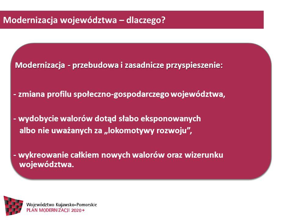 Projekt solidarności międzypokoleniowej (Radykalne) ograniczenie bezrobocia Modernizacja obszarów wiejskich Rozwój społeczny (wykształcenie oraz zdrowie) Silna metropolia Polityka miejska Rozwój infrastruktury o znaczeniu strategicznym Tożsamość i promocja województwa Cele strategiczne należy traktować jako równorzędne i równoważne dla rozwoju województwa Niektóre cele strategiczne dotyczą częściowo podobnych zakresów problematyki – w tym wypadku powtórzenie ma na celu podkreślenie innych ważnych aspektów danego zagadnienia Rozwój gospodarki Podsumowanie