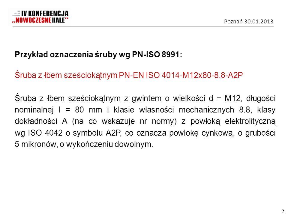 Poznań 30.01.2013 Zgodnie z pkt.