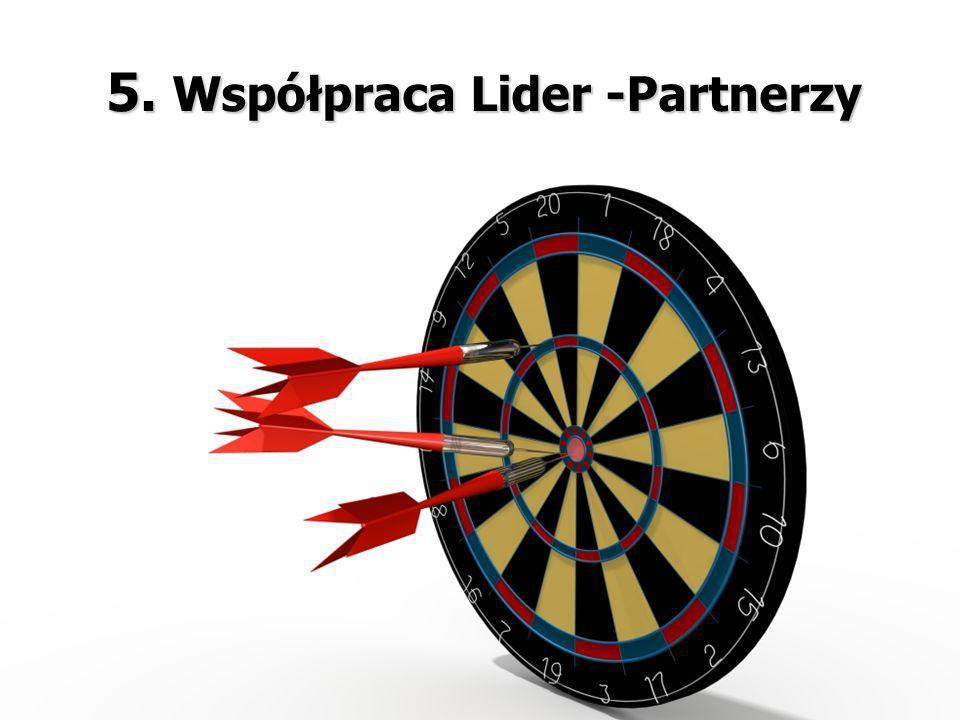 5. Współpraca Lider -Partnerzy