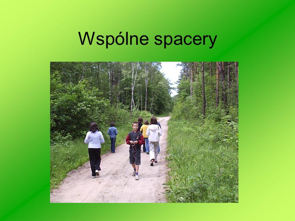 Wspólne spacery