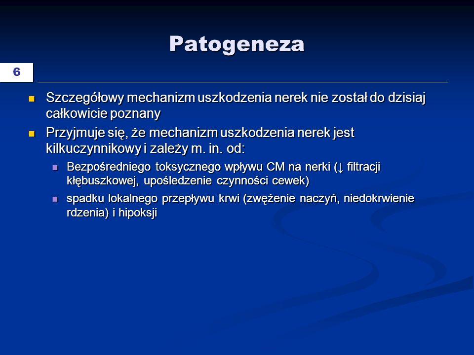 27 Nefrogenne włóknienie układowe NSF, nephrogenic systemic fibrosis Cowper SE.