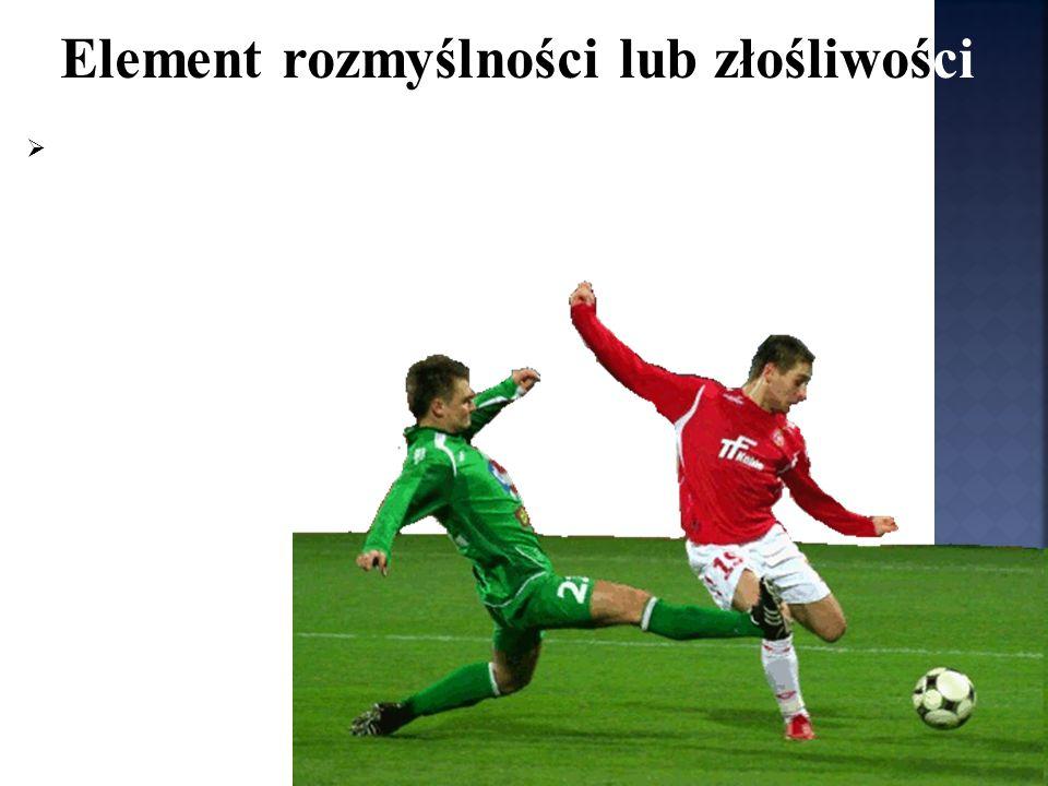 jest dozwolonym sposobem walki o piłkę, o ile nie wykonany jest w sposób nieostrożny, nierozważny bądź z użyciem nieproporcjonalnej siły.