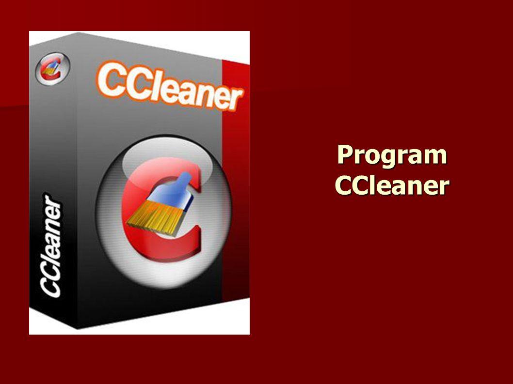 Program CCleaner