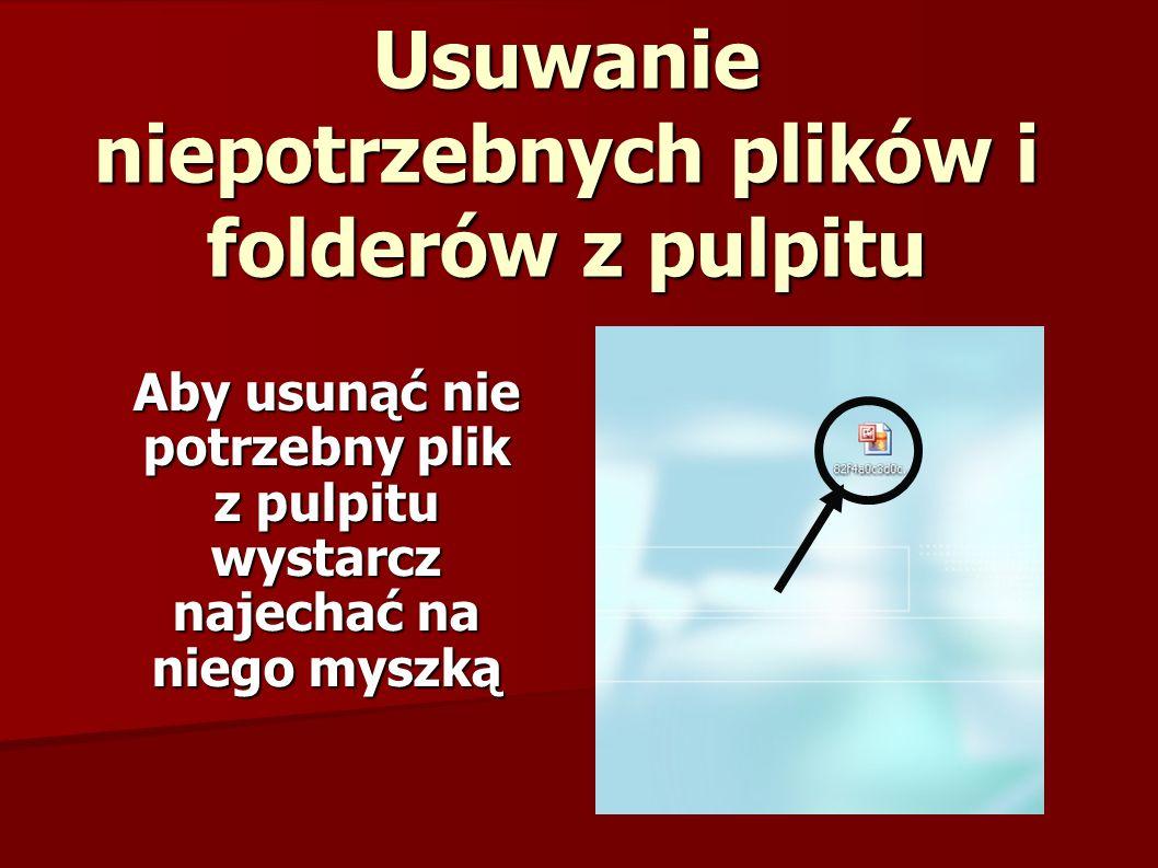 I kliknąć na niego prawym przyciskiem myszy Prawy przycisk myszy