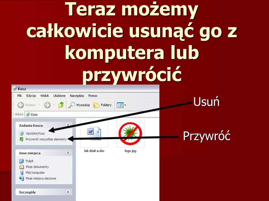 Antywirus: Program antywirusowy (antywirus) –program komputerowy, którego celem jest wykrywanie, zwalczanie i usuwanie wirusów komputerowych.