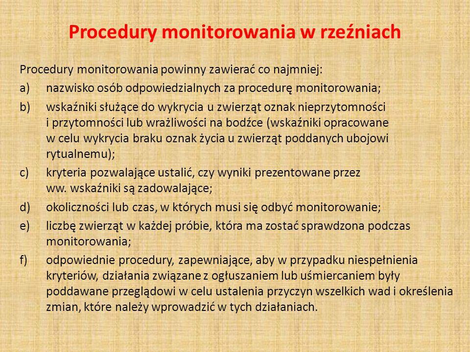 Nowe przepisy dotyczące magazynów żywca (z wyjątkiem królików i zajęcy) Zagrody muszą spełniać następujące wymagania: zapewnić każdemu zwierzęciu wystarczająco dużo miejsca, aby mogło wstać, położyć się oraz obrócić się, zapewnić zwierzętom bezpieczeństwo; uniemożliwić ucieczkę i zabezpieczyć przed drapieżnikami, być oznaczona w sposób widoczny, poprzez wykazanie: – daty i godziny przybycia zwierząt, – maksymalnej liczbę zwierząt, która może tam być przetrzymywana.