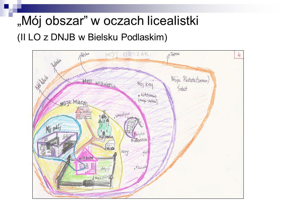 Mój obszar w oczach licealistki (II LO z DNJB w Bielsku Podlaskim)