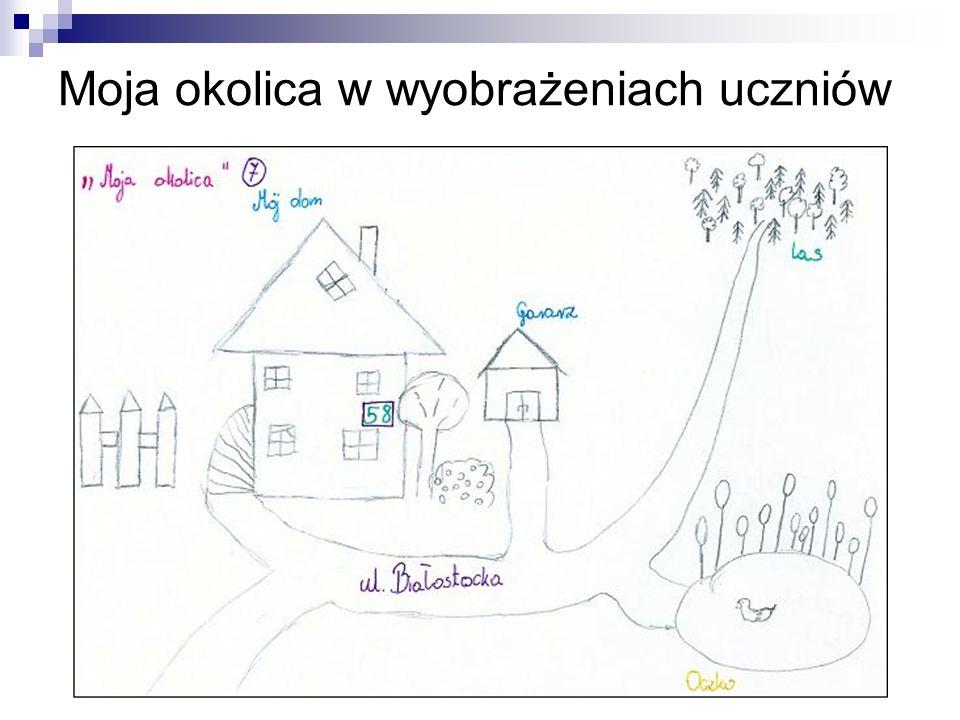 Moja okolica w wyobrażeniach uczniów