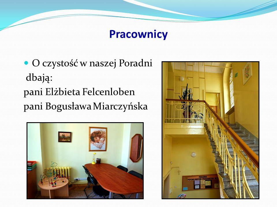 Pracownicy Pracownicy sekretariatu: pani Dorota Kazuła pani Barbara Woźniczka pani Mirosława Więciorska