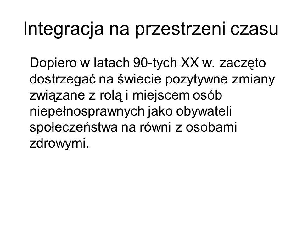 Bibliografia Encyklopedia internetowa Wikipedia (http://pl.wikipedia.org/)http://pl.wikipedia.org/ Hulek A., Integracyjny system kształcenia i wychowania, [w:] Pedagogika Rewalidacyjna, PWN, Warszawa 1997.