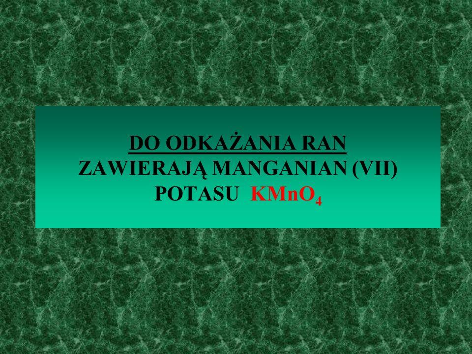 DO PEKLOWANIA MIĘSA ZAWIERA AZOTAN (V) POTASU KNO3