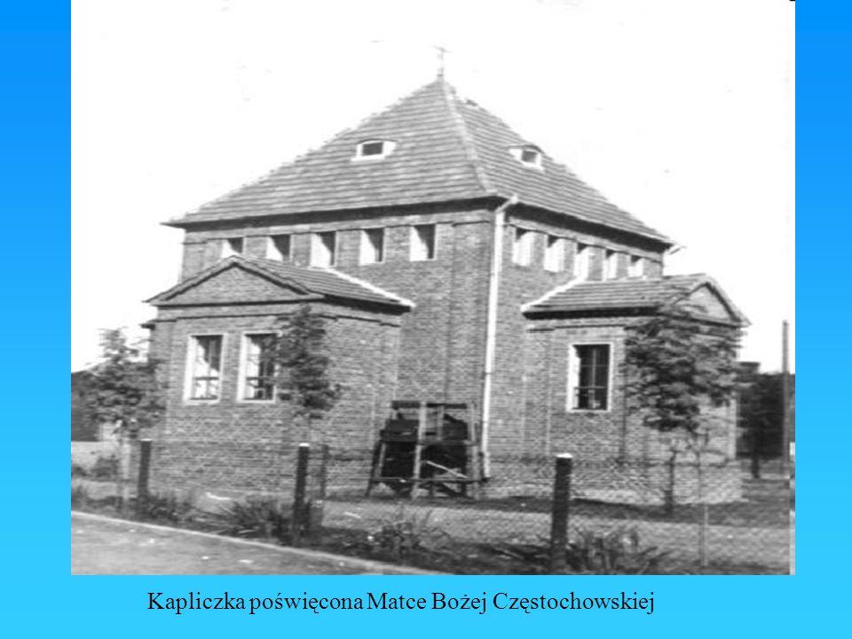 Kapliczka poświęcona Matce Bożej Częstochowskiej