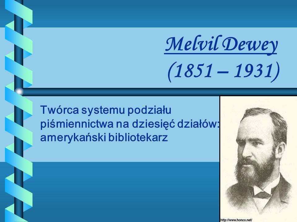 To system stosowany w bibliotekach wielu krajów. Pozwala określić temat każdej publikacji.