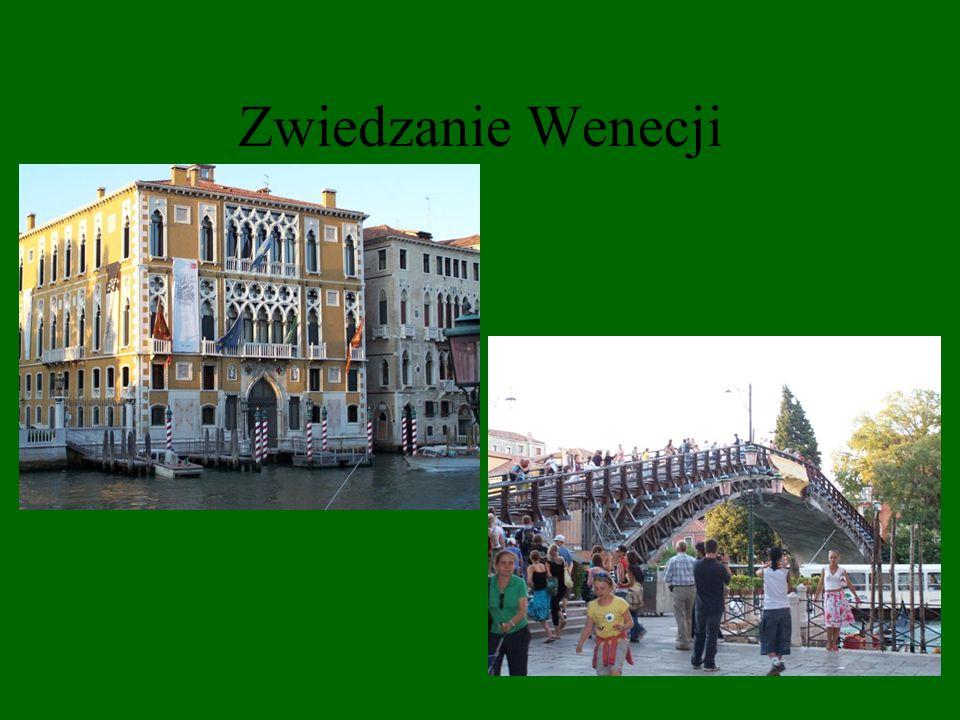 Zwiedzanie Wenecji