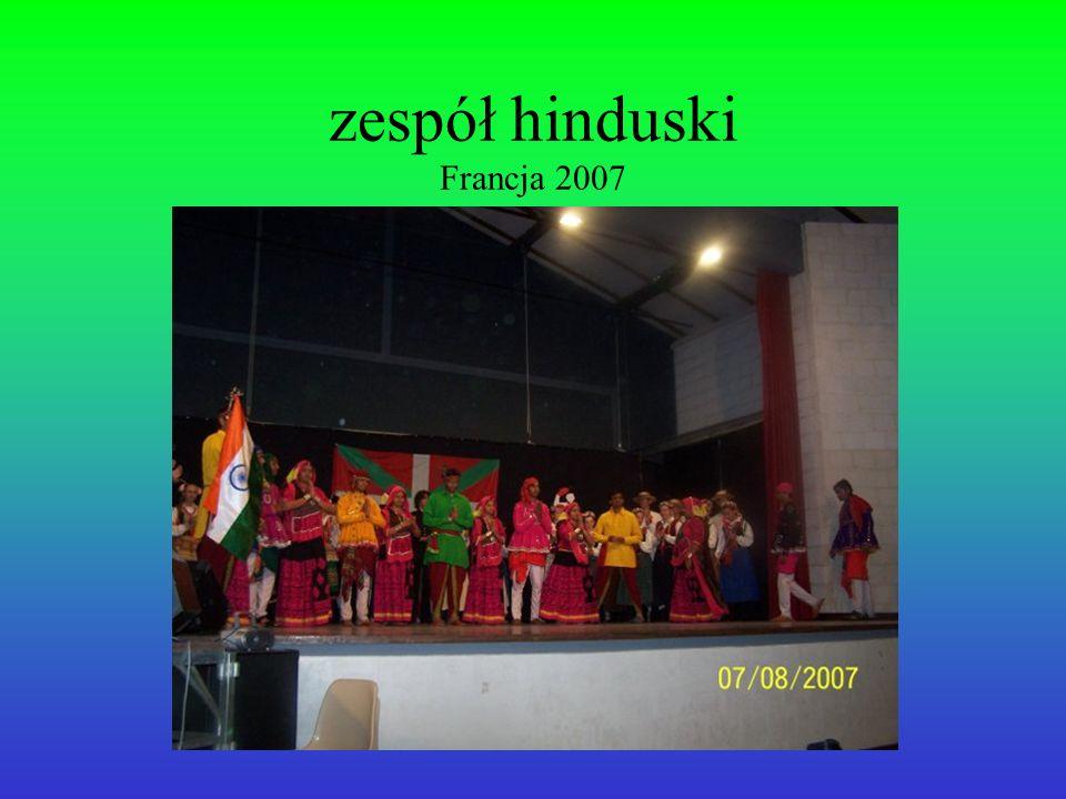 zespół hinduski Francja 2007