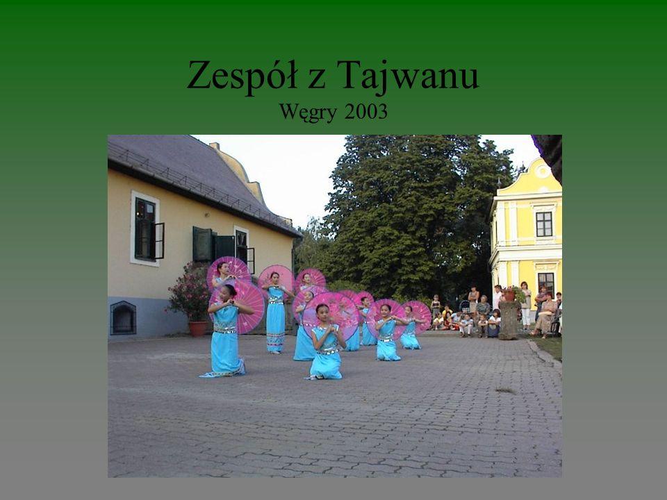 Zespół z Tajwanu Węgry 2003