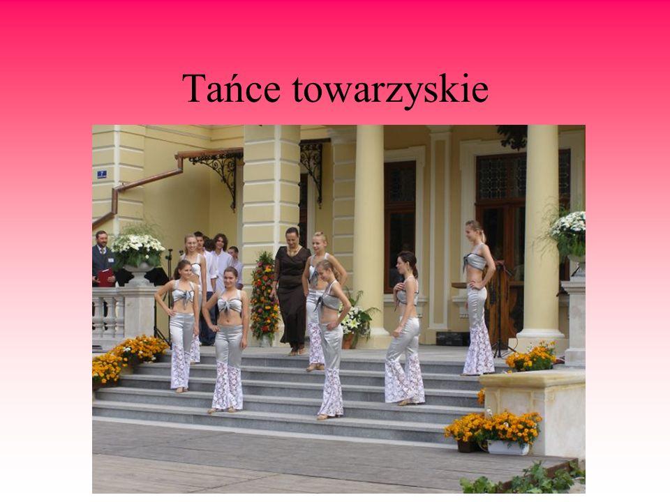 Tańce towarzyskie