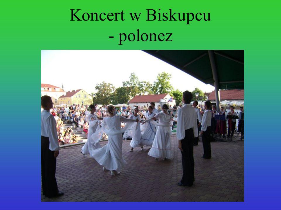 Koncert w Biskupcu - polonez
