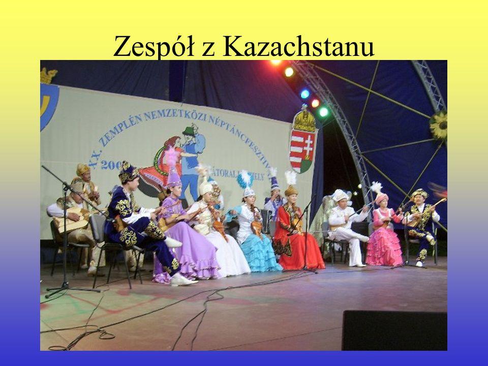 Zespół z Kazachstanu
