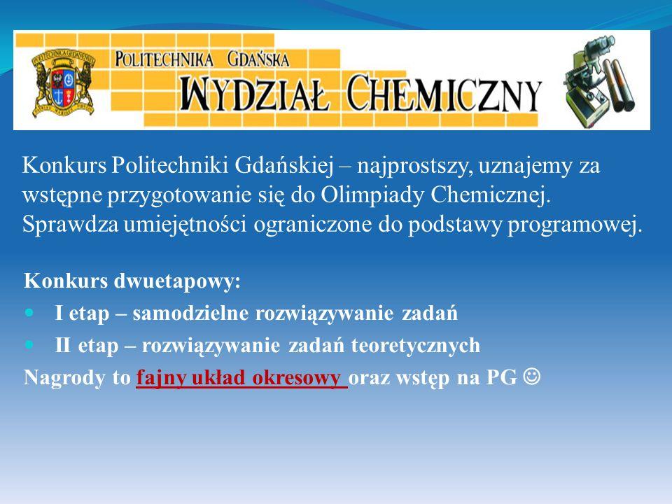Bartek Gachewicz, Mateusz Kłoczko oraz Kuba Skrzeczkowski uzyskali tytuł laureata Konkursu Chemicznego im.