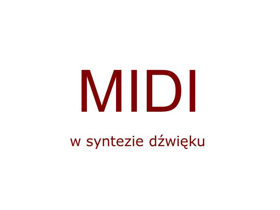 MIDI w syntezie dźwięku