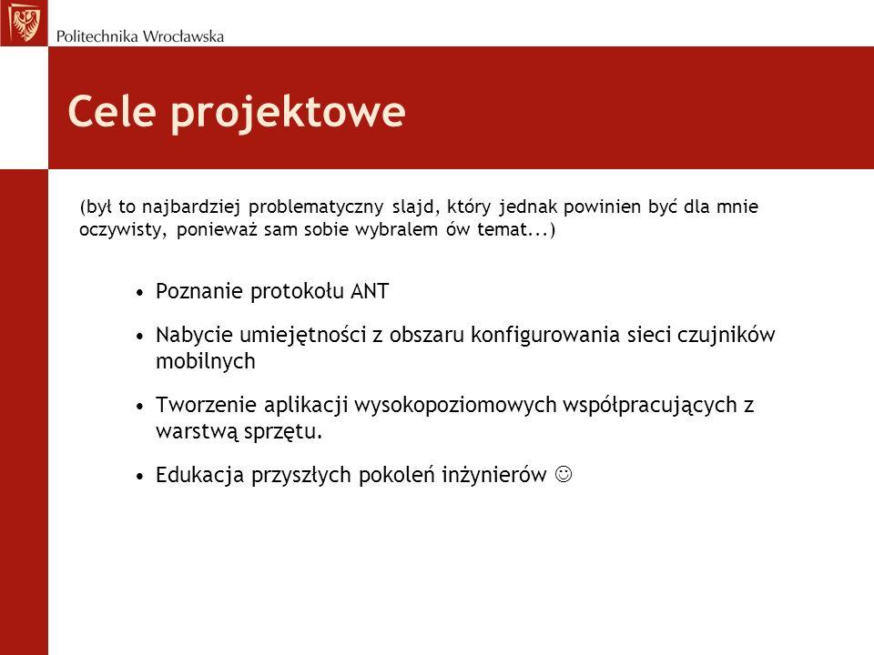 Cele projektowe (był to najbardziej problematyczny slajd, który jednak powinien być dla mnie oczywisty, ponieważ sam sobie wybralem ów temat...) Pozna