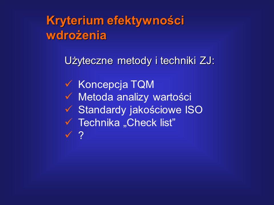 Metoda ABCD Check List (Oliver Wight): Zaleta metody ABCD polega na obiektywnym i wystandaryzowanym sposobie oceny jakości wdrożenia ERP. Zasadnicza w
