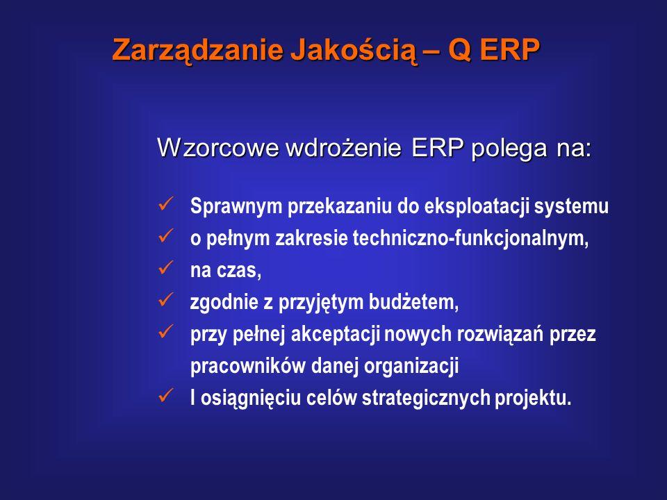 Q-ERP – koncepcja