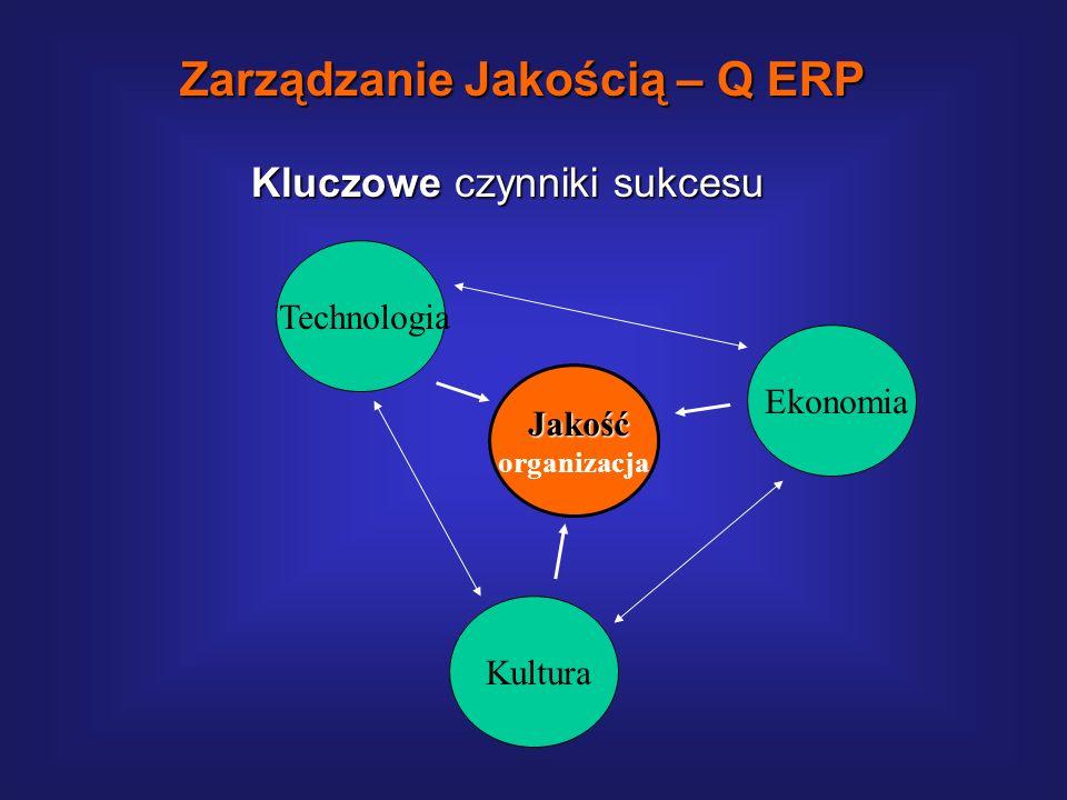 Organizacyjne czynniki sukcesu obejmują: Opracowanie skutecznej metodyki wdrożenia. Zorganizowanie kompetentnego i dyspozycyjnego zespołu (ów) wdrożen