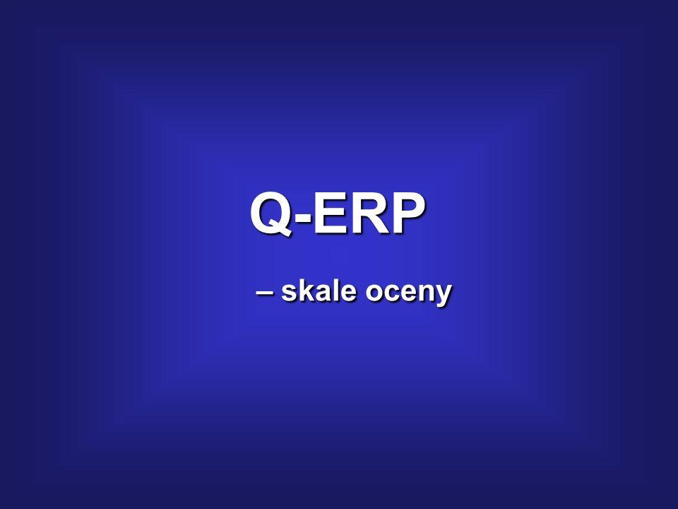 Wykres jakości – analiza dynamiki: Metodyka: Q-ERP