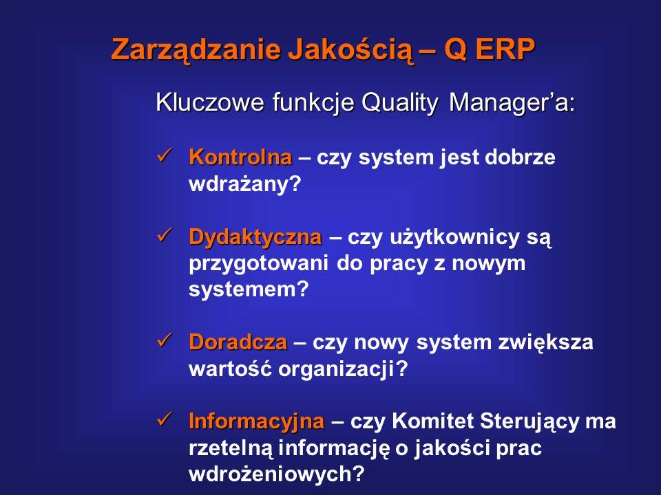 Q-ERP – funkcje i zadania