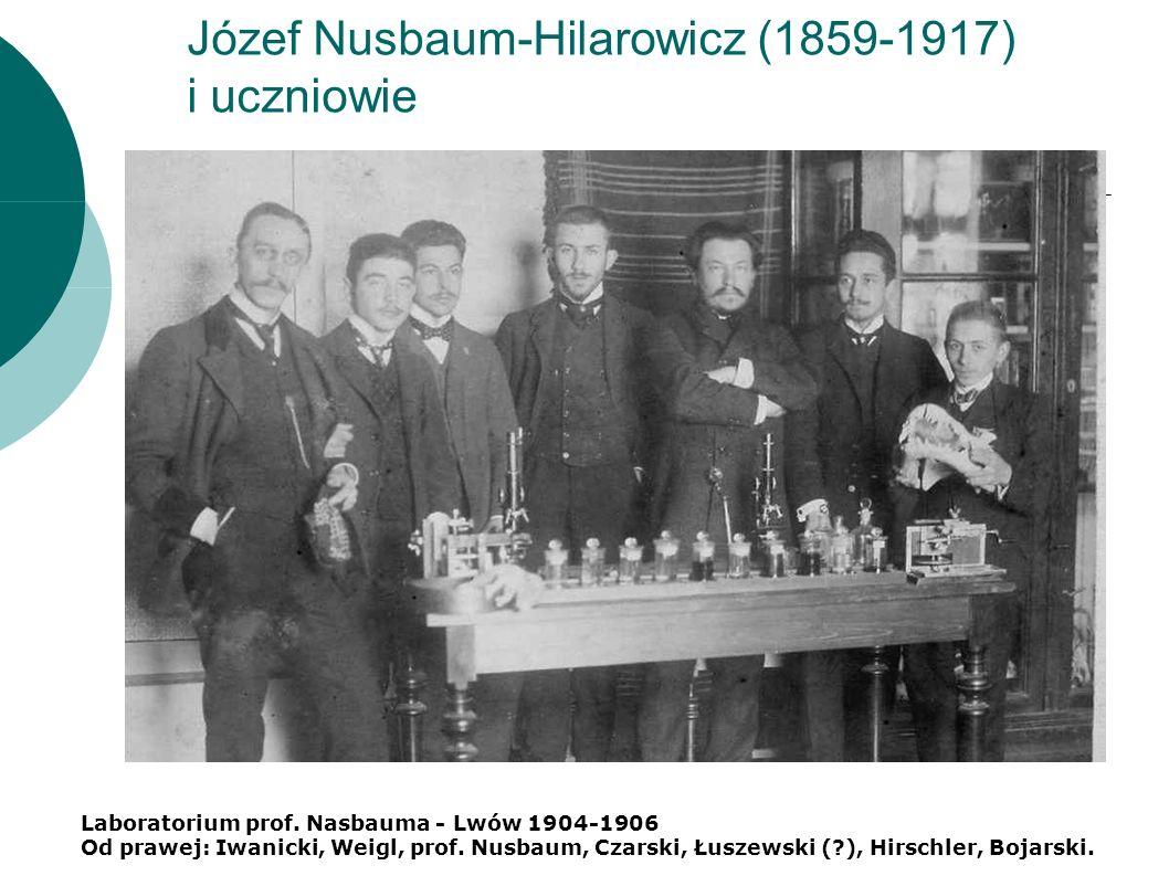 Józef Nusbaum-Hilarowicz (1859-1917) i uczniowie Laboratorium prof.