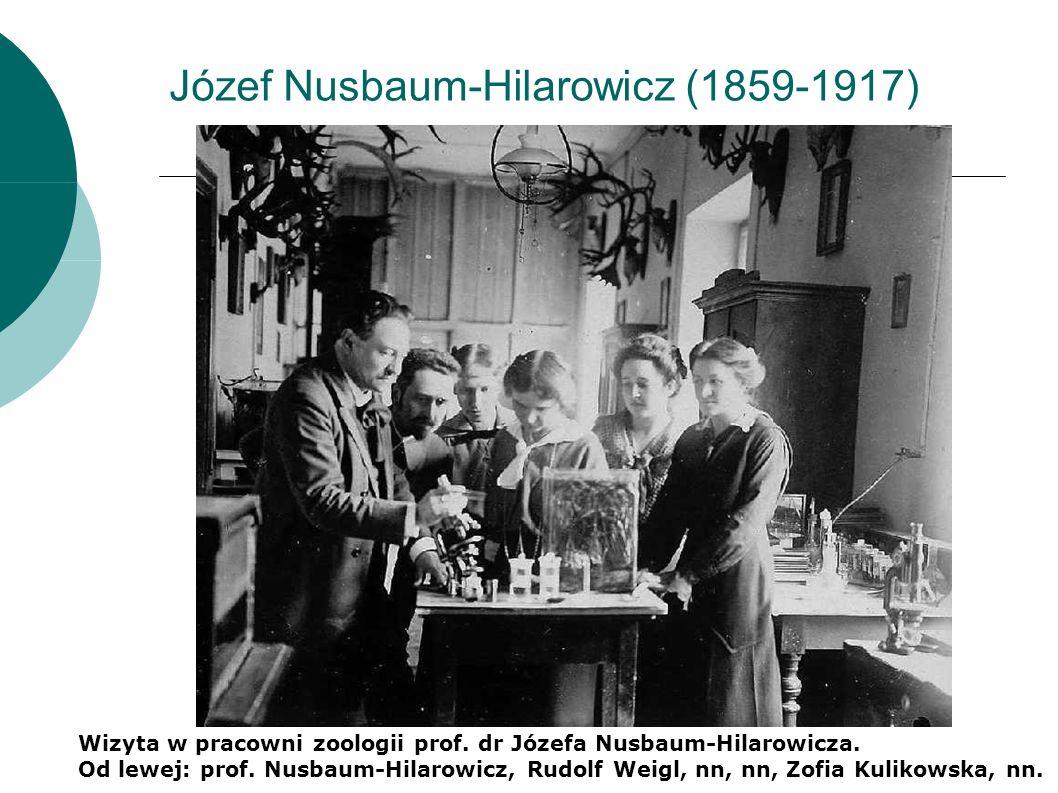 Józef Nusbaum-Hilarowicz (1859-1917) Wizyta w pracowni zoologii prof.