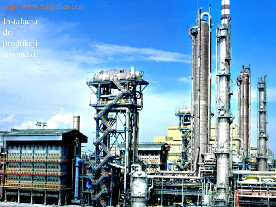 Instalacja do produkcji amoniaku http://www.zchpolice.com