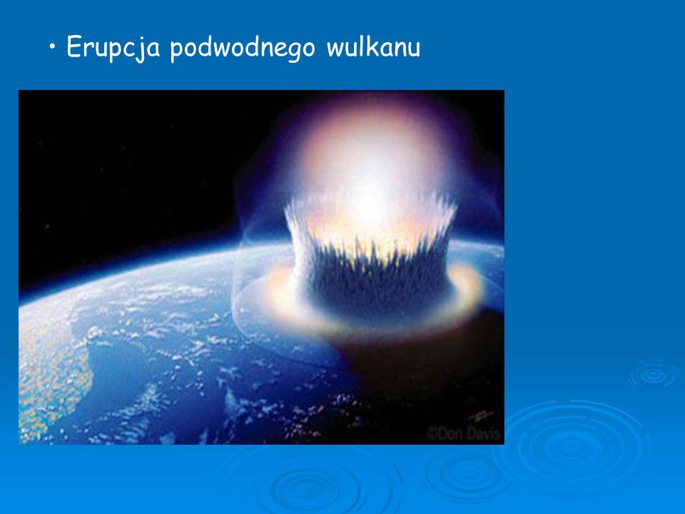 Erupcja podwodnego wulkanu