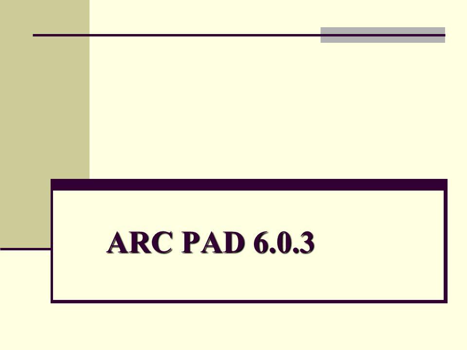ARC PAD 6.0.3