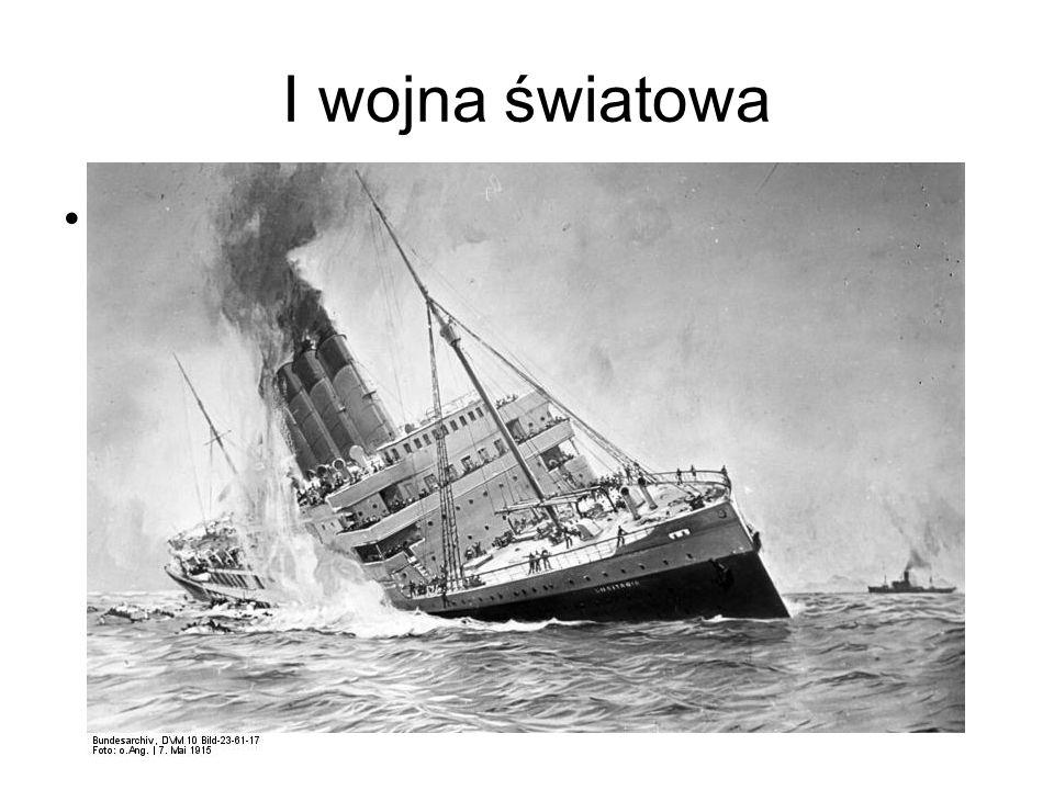 Zatopienie Lusitanii
