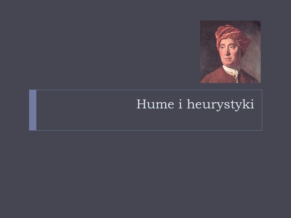 Hume i heurystyki