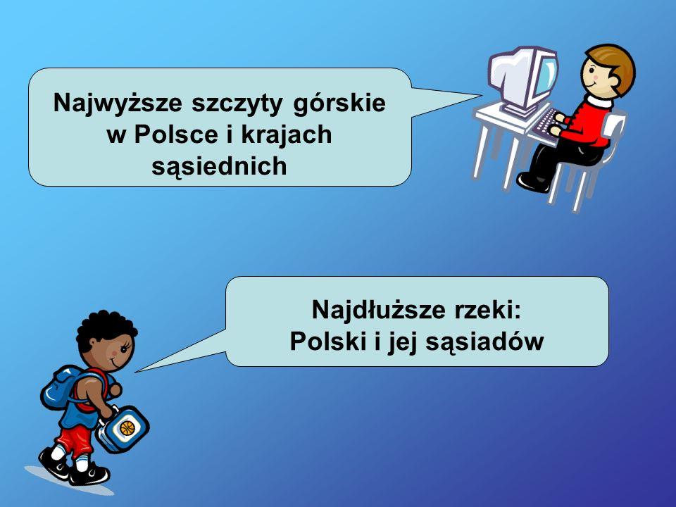 Najwyższa i najniższa średnia temperatura w Polsce i u jej sąsiadów