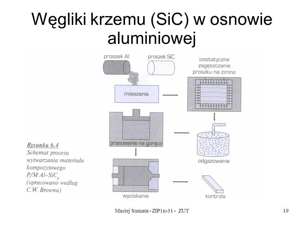 Maciej Sumara - ZIP1n-31 - ZUT19 Węgliki krzemu (SiC) w osnowie aluminiowej