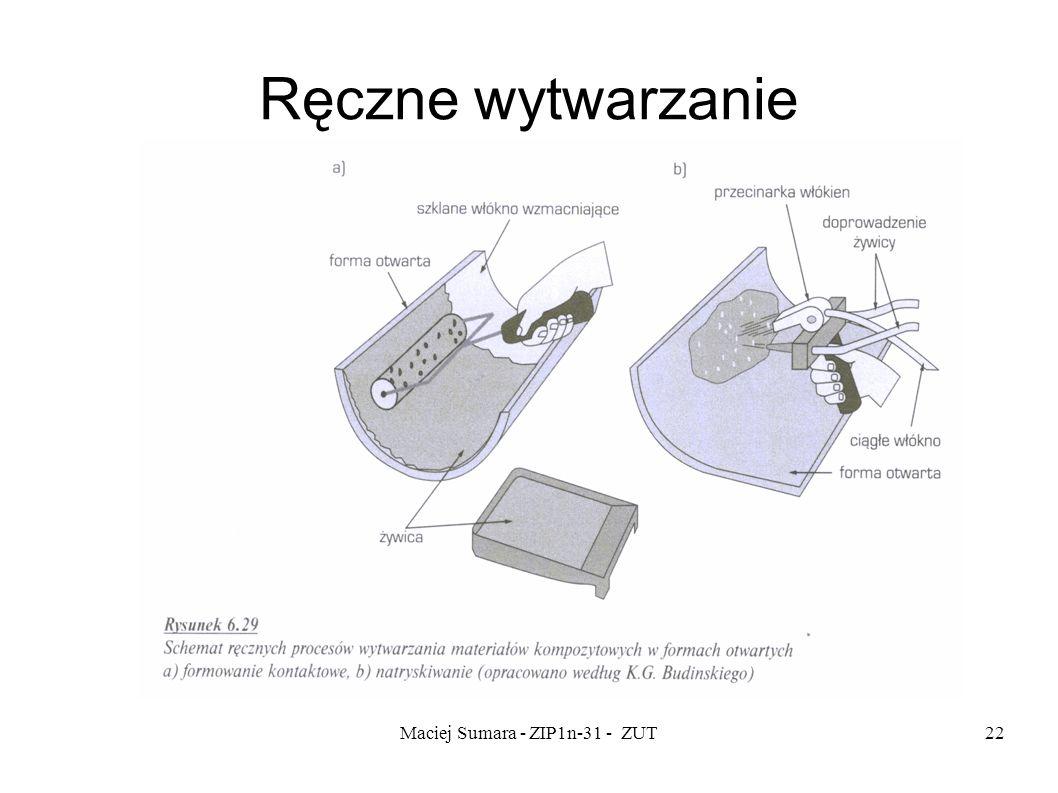 Maciej Sumara - ZIP1n-31 - ZUT22 Ręczne wytwarzanie