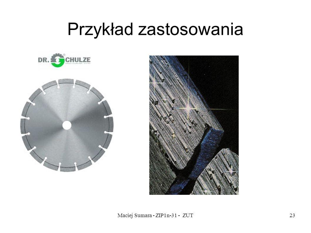 Maciej Sumara - ZIP1n-31 - ZUT23 Przykład zastosowania.
