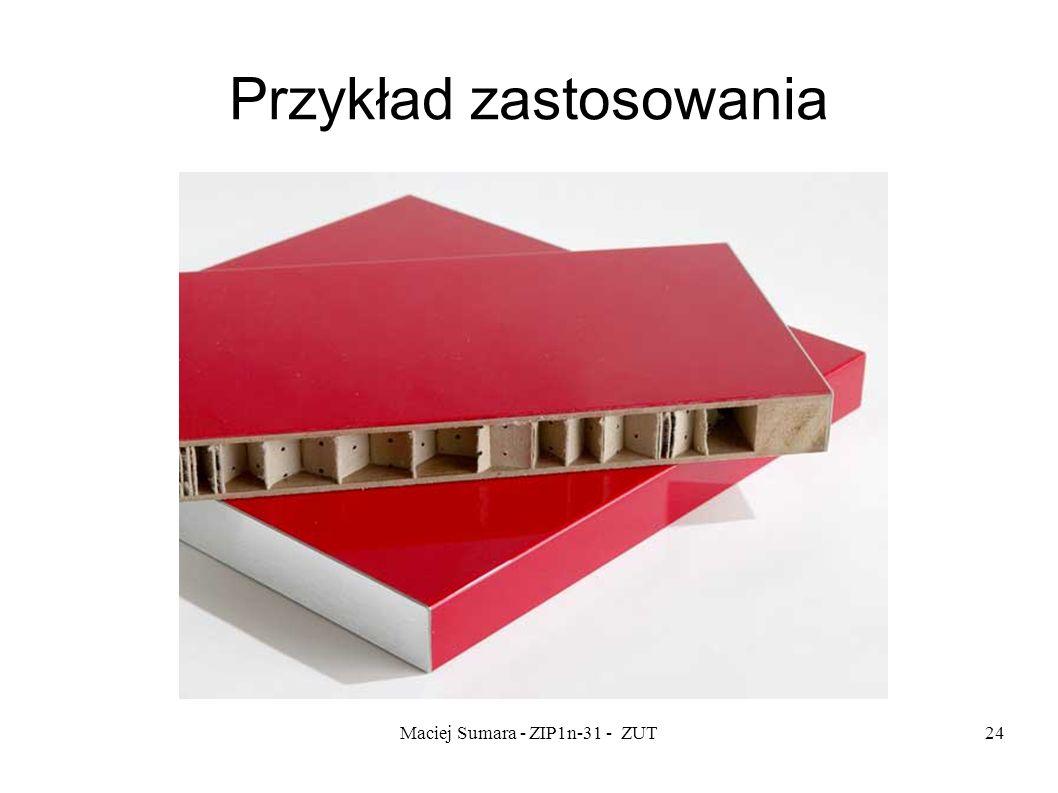 Maciej Sumara - ZIP1n-31 - ZUT24 Przykład zastosowania